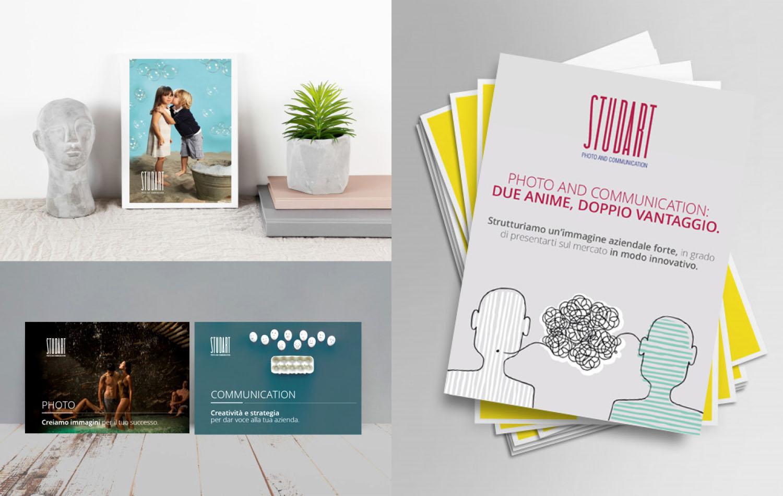 Le cartoline di Studart, progetto grafico di Myosign Annarita Bonanata