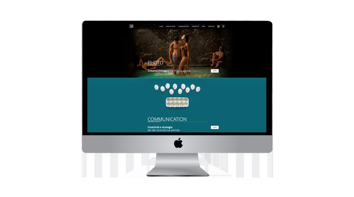 Il sito web di Studart, progettazione grafica di Myosign Annarita Bonanata